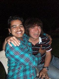 20110410Ashish%26KojiFujita%26etc-Night-Khajuraho.jpg