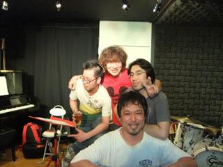 20110513KojiFujitaLatinCubanJazzSession-YasuroHeihachiAbe-YoshiyasuFujimaki-KatsuhikoKobayashi.jpg